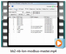 BB2-6020-NB Video - Configure as Modbus Master