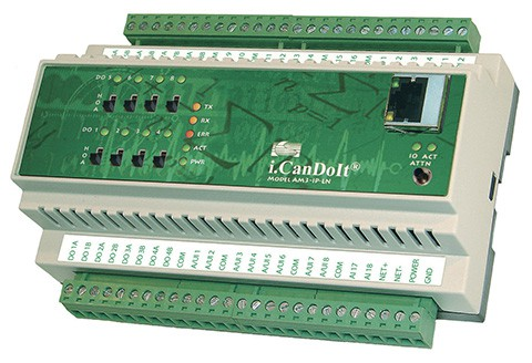 AM3-IP-MB Web Enabled I/O